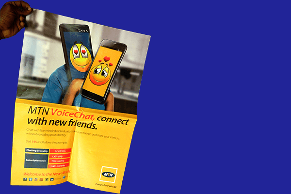 MTN-Voice-chat Offset Printing | Printing partner of leading brands in Uganda. Print magazines in Uganda, print posters in Kampala, Print booklets in Kampala, in line printing services
